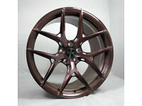 """20"""" Bronze Brushed AMS HF5 Forged Wheels for F80 M3 & F82 M4"""