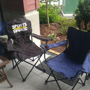 2 Folding Outdoor Armchairs - $15 (Sardis)