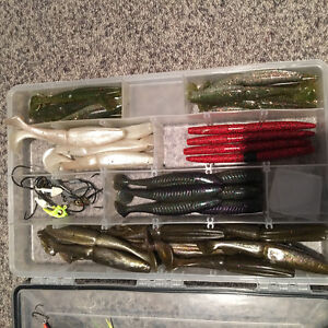 Lures and tackle trays