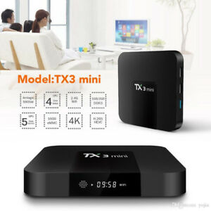 Android TV Box, Android 7.1 TV Box TX3 Mini - Sale