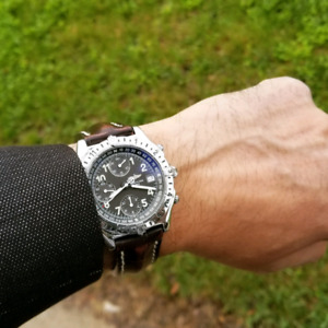 100% Authentic Breitling Chronomat Longitude