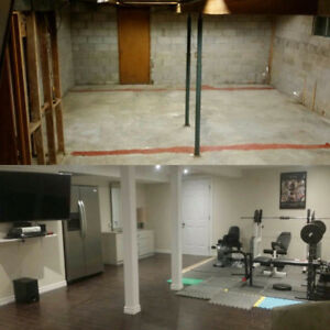 RENOVATION BASEMENT FINISH