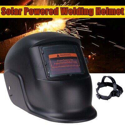 Kingso Solar Auto-darkening Welding Helmet Welder Mask Hood Arc Tig Mig Din 4 Us