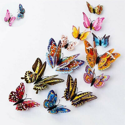 Butterfly Lots Fridge Refrigerator Nautical galley Ornament Magnets 12pcs Home