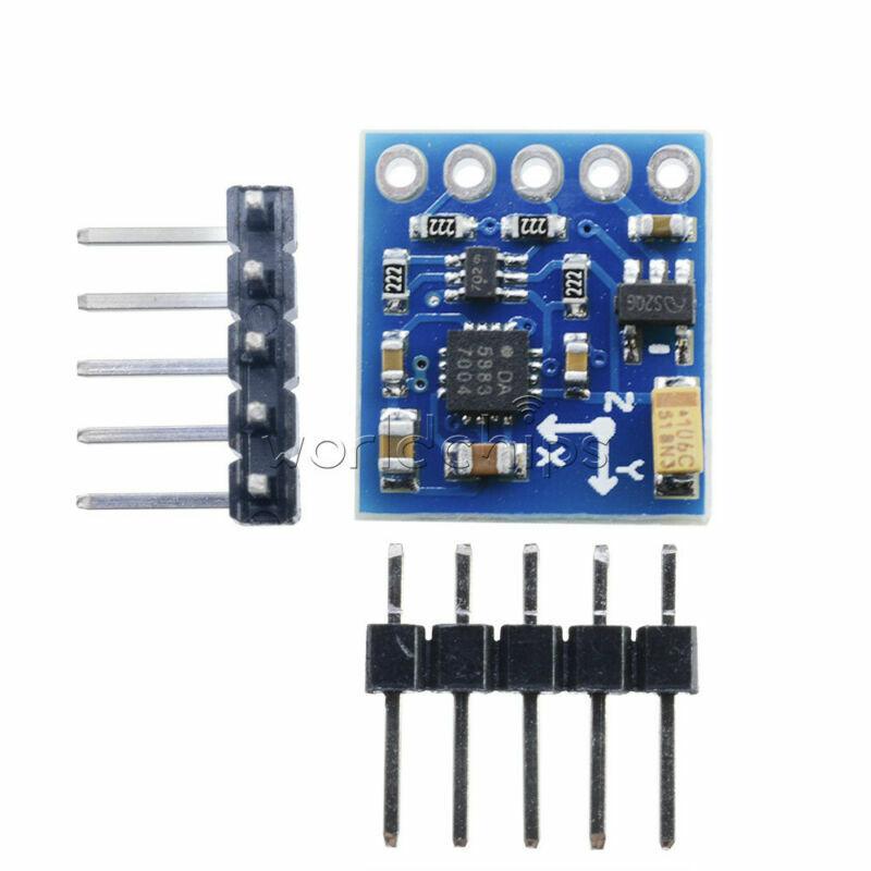 HMC5883L GY-271 3V-5V Triple Axis Compass Magnetometer Sensor Module For Arduino