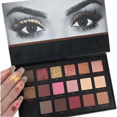 Pro Rose Gold Eyeshadow Makeup 18 Colors Matte Eyeshadow Palette Cosmetics