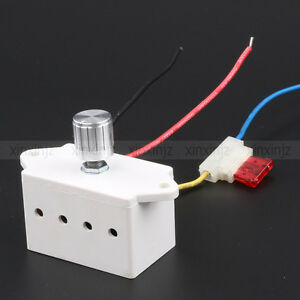 Dc 12 24v motor pump auto fan speed control regulator for Fan motor speed control switch