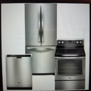 NEW Fridge, hood, gas stove and dishwasher GREAT Deal!!