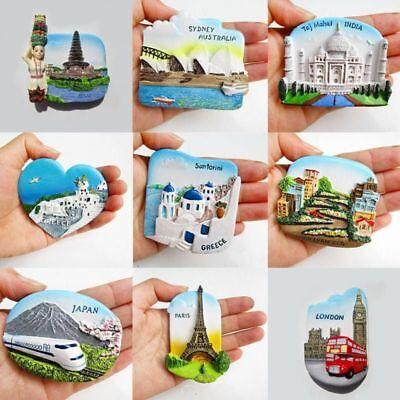Famous Landmarks Fridge Magnet Sticker Magnetic Kitchen Accessories Refrigerator