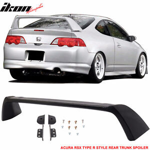 02-06 Acura RSX DC5 Type R TR Style Rear Trunk Spoiler Unpainted