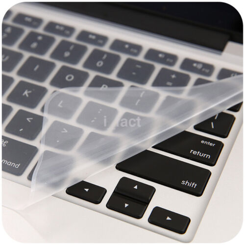 Computer Universal Dustproof Keyboard Protective Film Silicone Skin Cover UK