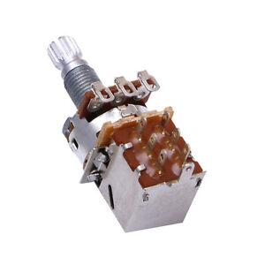 Guitar Parts Push Pull Control Pot Potentiometer Switch Durable Dexterous B250K