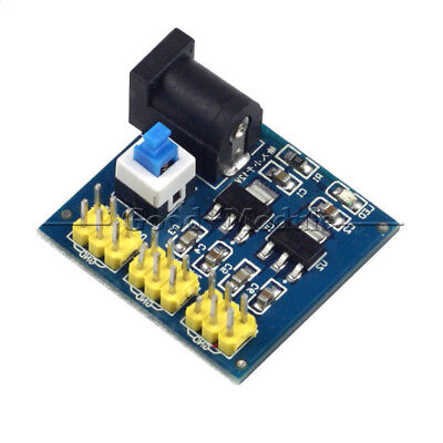 Power Supply Module Dc-dc 12v To 3.3v 5v Buck Step-down For Arduino New