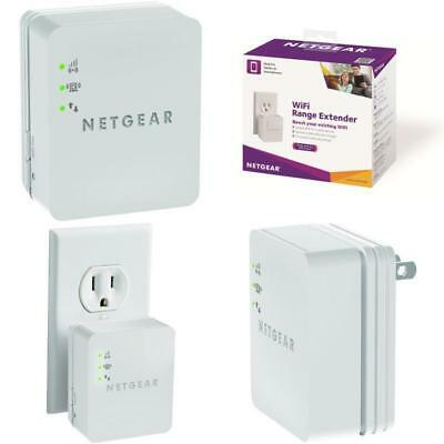 Wall Plug Wifi Long Range Extender WN1000RP Wireless Repeater Booster NETGEAR