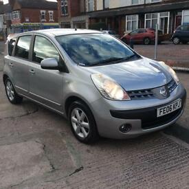 2006/06 NISSAN NOTE 1.4 SE ONE PREVIOUS OWNER FROM NEW