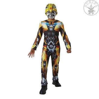 IAL 3630992 Bumblebee  Lizenz Kostüm Transformers 5 Classic 9 bis 14 - Transformer Bumblebee Kostüm