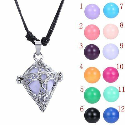 Cross Angel Family Aromatherapy Gifts Sounds Bell Pregnant Ball Necklace Womens - Angel Bell Necklace