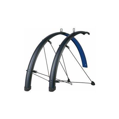 SKS Bluemels Stingray Bicycle Fender Set // 700c // 45mm // Blue/Black
