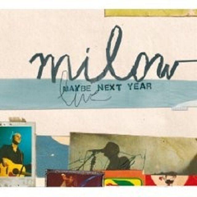 "MILOW ""MILOW LIVE"" CD+DVD DIGIPACK NEU"