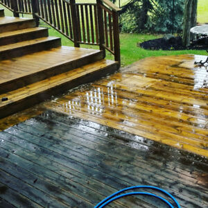**Fence /  Deck Restoration Pressure Washing House Cleaning**