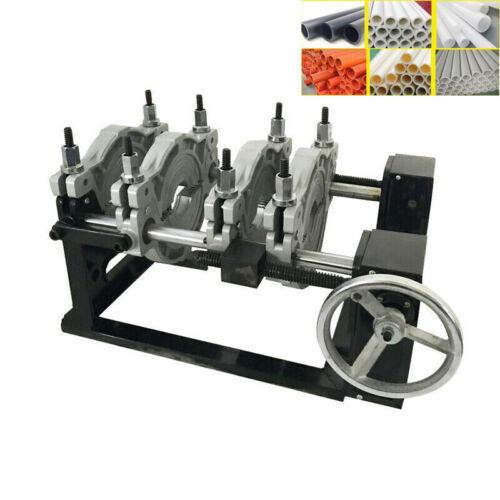 "110V 4 Clamps Pipe Fusion Welder 2.5-7.87"" PE HDPE Plastic Pipe Welding Machine"