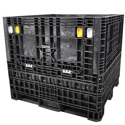 Duragreen 45 X 48 X 42 Heavy-duty Collapsible Bulk Container 2 Doors
