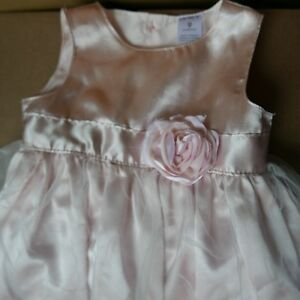 *** GORGEOUS PINK BABY GIRL DRESSES 9 MOS  ***