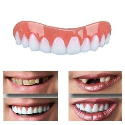 Teeth Whitening False Dental Tooth Prosthesis Perfect Smile Veneers Correction