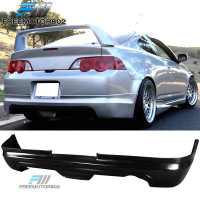 For 02-04 Acura RSX 2DR MUG Style Rear Bumper Lip Spoiler Bodykit Unrethane