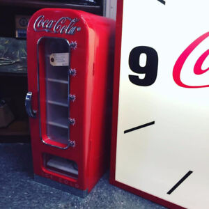 COCA COLA MINI VENDING FRIDGE