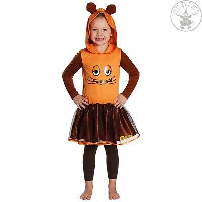 RUB 380401 Die Maus Kinder Kostüm Die Sendung mit der Maus Kostüm 104 - (Kostüm Sendung)