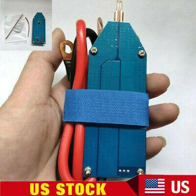 Portable Mini Diy Battery Spot Welder 4v-12v Full Set Us