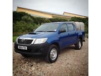 14 64 Toyota Hilux 2.5 Di-D Active Metallic Blue