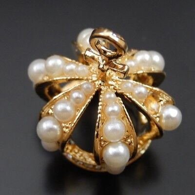 Diamond Crown Charm - 2pcs Gold Tone Alloy Diamond 3D Crown Charm Pendants Jewelry Accessories 18*24mm
