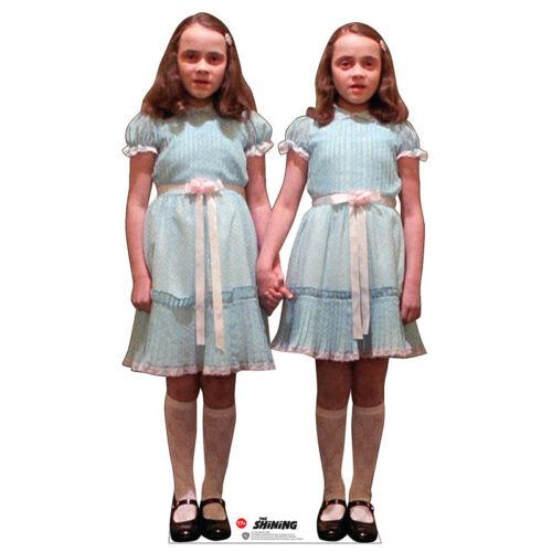 CREEPY TWINS The Shining Lifesize CARDBOARD CUTOUT Standup Standee Stephen King