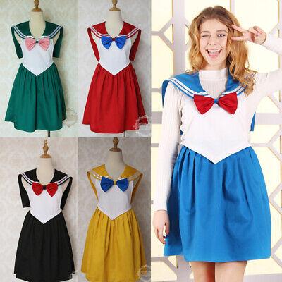 Moon Apron (Sailor Moon Usagi Cosplay Apron Dress Women Kitchen Cooking Waterproof Anime )