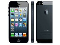 iPhone 5 - 64 GB used but in Excellent condition in Black Colour