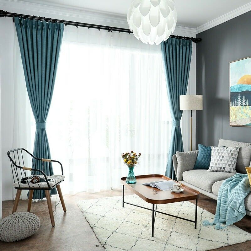 Cotton Linen Blackout Curtain For Bedroom Or Livingroom In City Of London London Gumtree