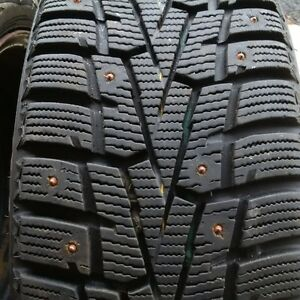 Four winter tires and rims 205/55R16