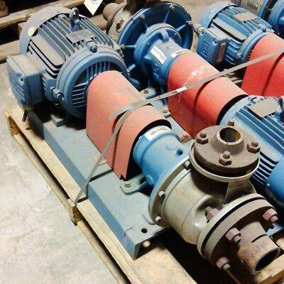 Goulds Ssh-style Centrifugal Pump W 7.5hp Weg Motor