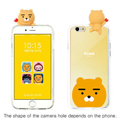 half off 2ef0e 63ecc Kakao Friends Mirror Bbakkom Case for Apple iPhone XS Max / XR XS X 8 8  Plus 7 6