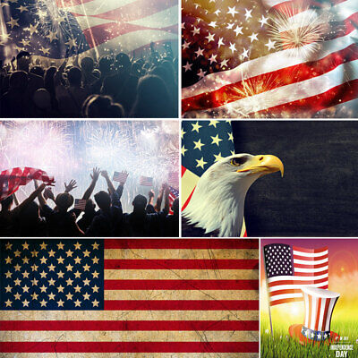 American Flag Photography Backdrops Background For Independence Day Photo Booth (Backdrops For Photo Booths)