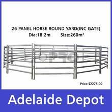 26pcs Horse Round Yard Panels Inc Gate 18.2m Diameter Ferryden Park Port Adelaide Area Preview