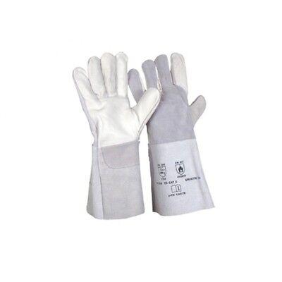 Rosen - Handschuhe aus Leder 35 cm Länge Gr. 9  +  10 + 11