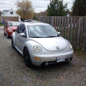 Parts Car or Rebuild 2001 Volkswagen Beetle Hatchback