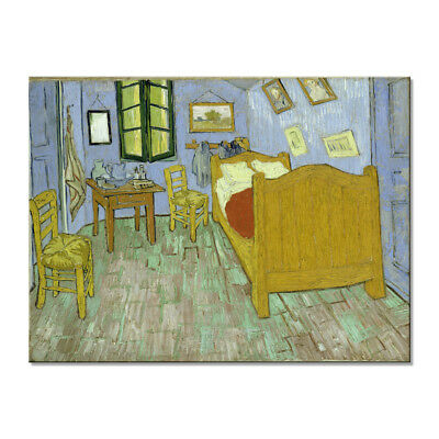 Canvas Wall Art Print Picture Van Gogh Painting Repro Bedroom Home Decor Framed
