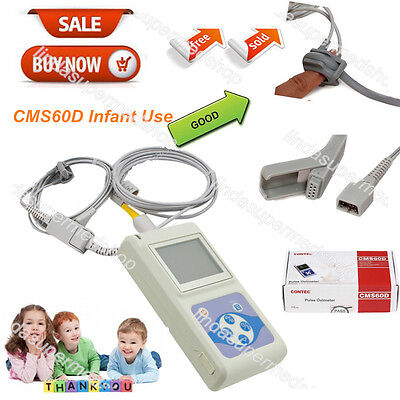 Pediatricinfantkids Born Use Pulse Oximeter Blood Oxygen Spo2 Monitor Ce Fda