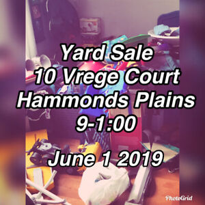 Yard Sale June 1