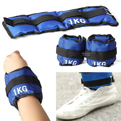 Hands Feets Sand Bag Sports Fitness Weight Dumbbell Strength Training Equipment