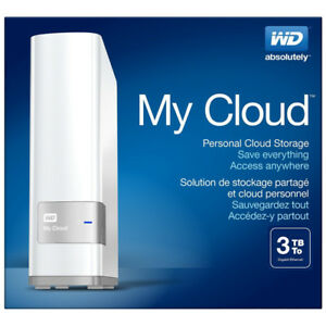 WD My Cloud 3tb USB 3.0 Personal NAS Storage  (brand new)